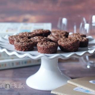 nutella brownie bites