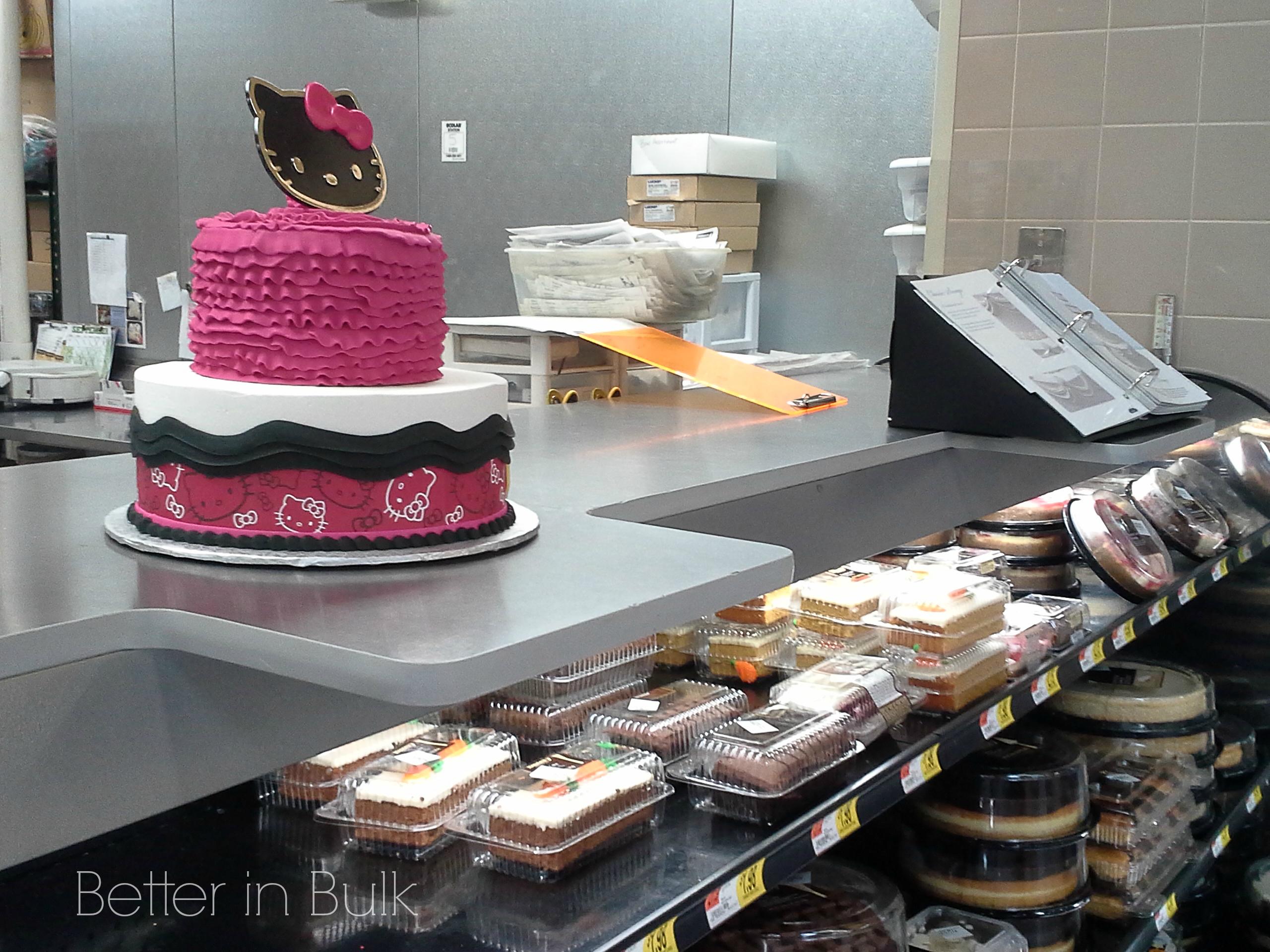 Types Cakes Walmart