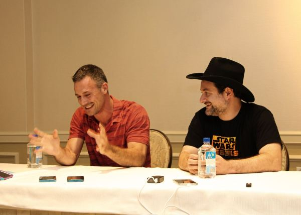 Star Wars Rebels group interview with Freddie Prinze Jr and Dave Filoni
