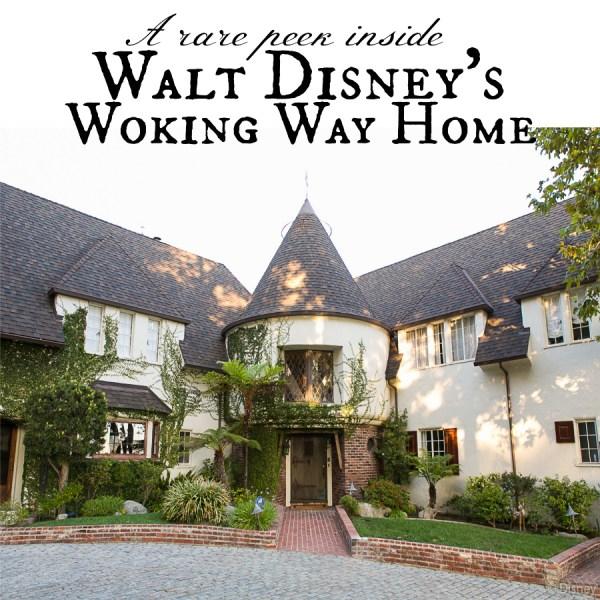Walt Disney's Woking Way home tour