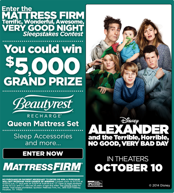 mattress firm giveaway