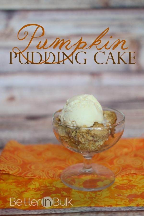 Pumpkin Pudding Cake Recipe