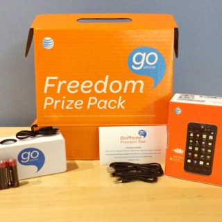 AT&T GoPhone Freedom Kit Giveaway Prize