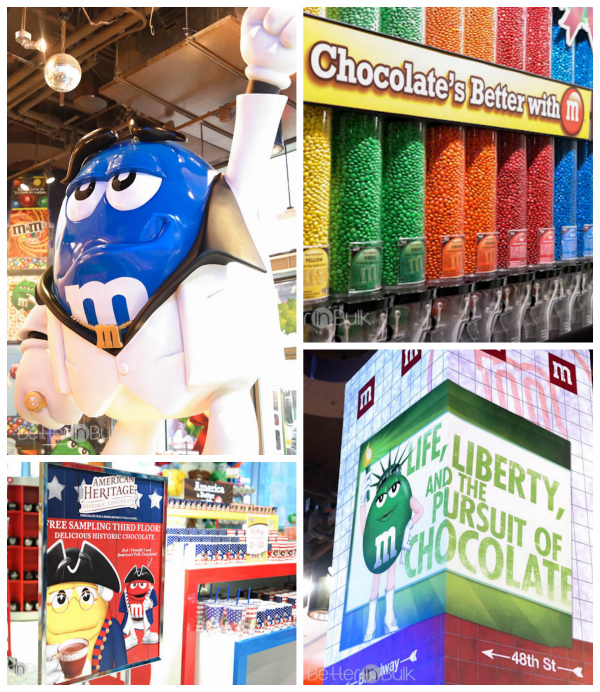 M&M's World Times Square NYC