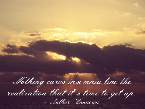 cure insomnia quote
