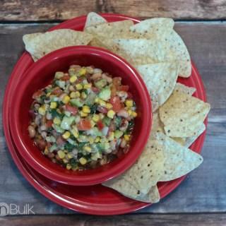 Corn, Avocado and Black Eyed Peas Salsa