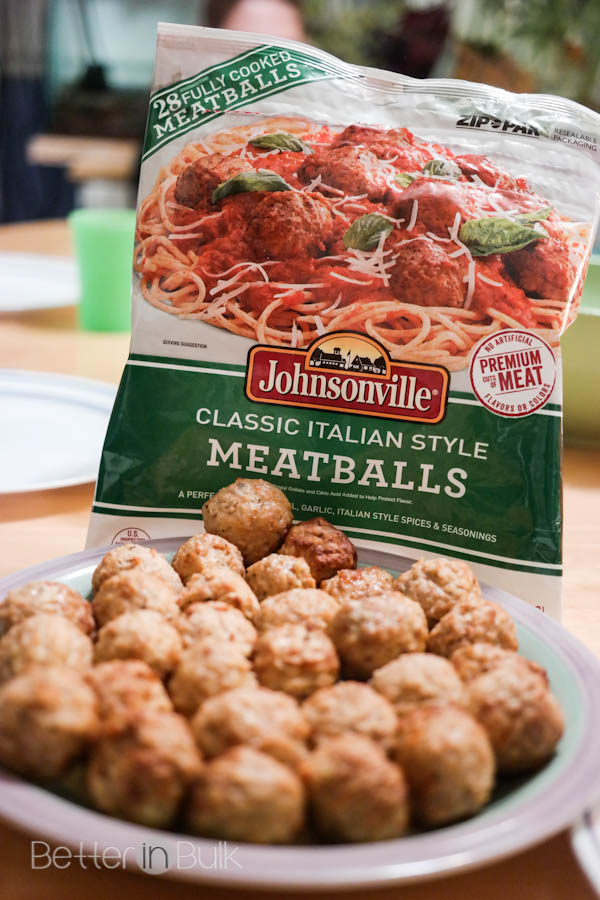 Pasta with 30-minute Spaghetti sauce and meatballs #meatballmasters