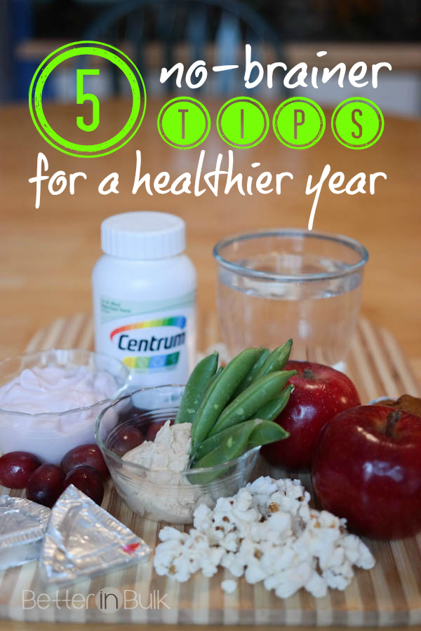 5 no-brainer tips for a healthier year