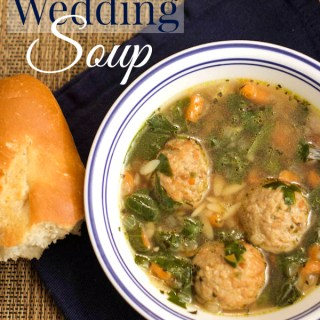 Easy Italian Wedding Soup #MeatballMasters