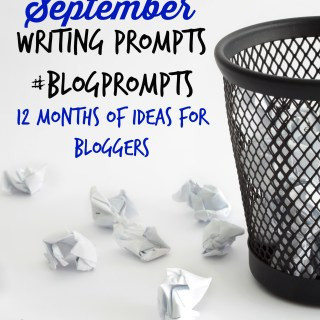 September blog prompts
