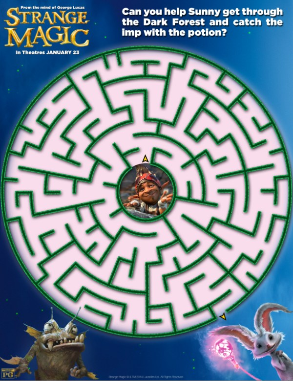 Strange Magic - maze