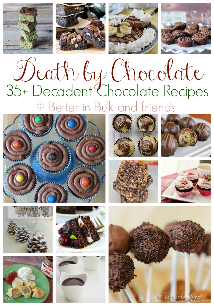 Death by Chocolate recipes