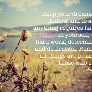 quote: belief in yourself
