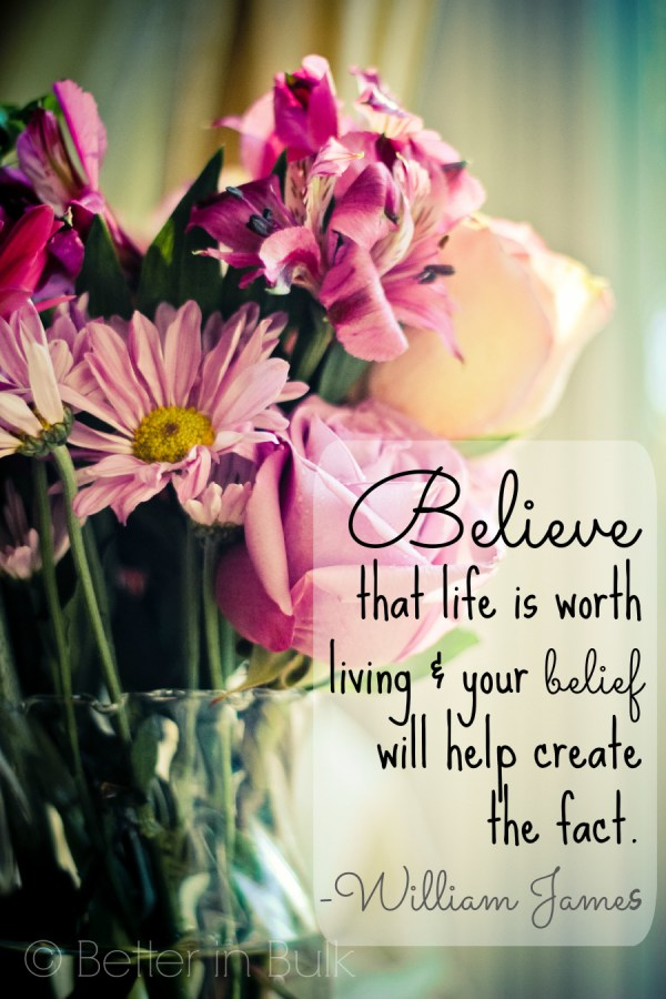 belief will help create the fact