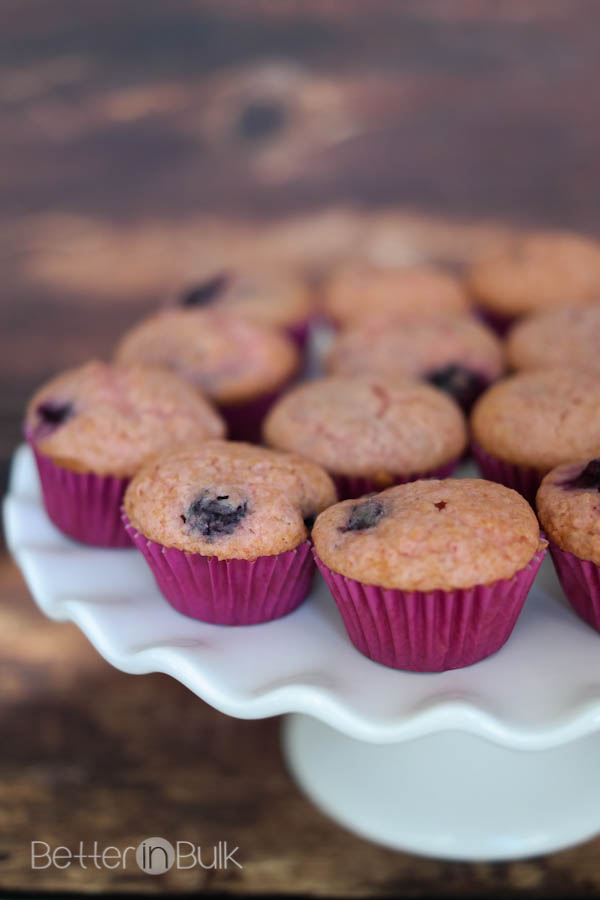 Applesauce Muffins With White Cake Mix