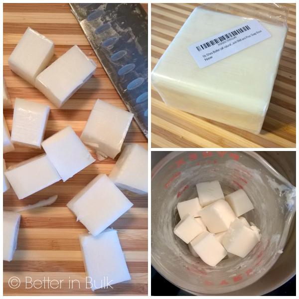 shea butter soap base