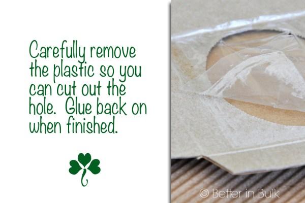 DIY St Patrick's Day Tissue Box Make-Over Craft