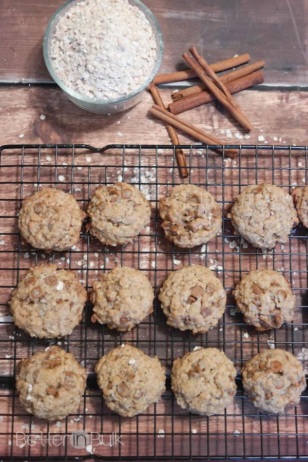 cinnamon chip oatmeal cookies recipe