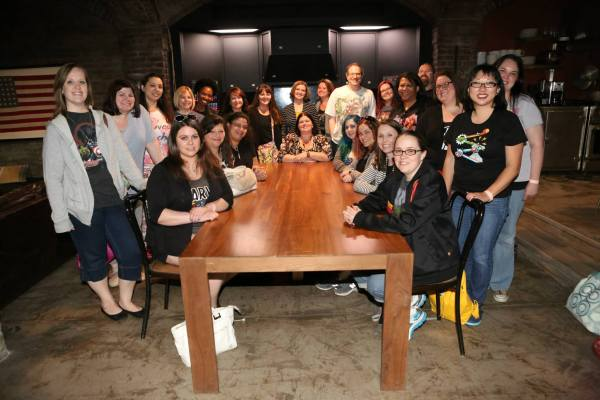 MARVEL'S AGENTS OF S.H.I.E.L.D. Headquarters - Bloggers event (ABC/Adam Taylor)