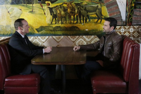 "CLARK GREGG, BRETT DALTON from ""The Frenemy of My Enemy"" ""Marvel's Agents of S.H.I.E.L.D.,"" TUESDAY, APRIL 21 on ABC (ABC/Kelsey McNeal)"