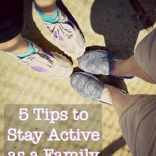 5 tips to stay active as a family