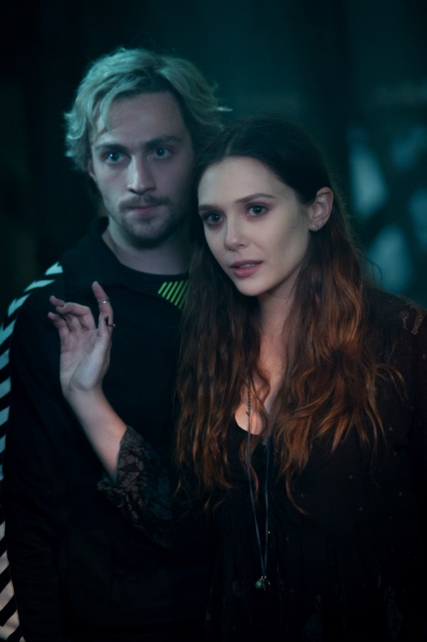 Scarlet Witch and Quicksilver - Elizabeth Olsen and Aaron Taylor-Johnson Interview for Avengers: Age of Ultron