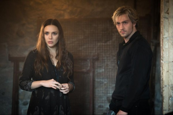 Scarlet Witch and Quicksilver in Avengers: Age of Ultron. Photo credit: Marvel