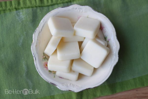 Easy DIY shea butter lotion bars