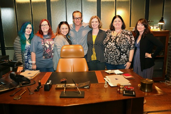 Blogger Group Show with Clark Gregg - Agents of S.H.I.E.L.D. | photo by ABC/Adam Taylor