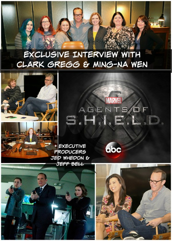 Clark Gregg and Ming-Na Wen Agents of SHIELD interview