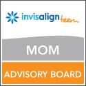 Invisalign Teen Mom Blog badge