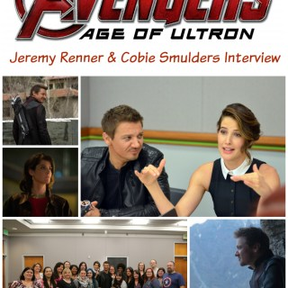 Jeremy Renner and Cobie Smulders Dish on Avengers: Age of Ultron #AvengersEvent