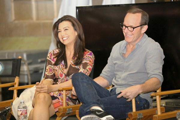 Ming-Na Wen & Clark Gregg - Agents of S.H.I.E.L.D. | photo by ABC/Adam Taylor