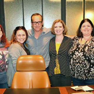That Time I Met Agent Coulson on the Set of Agents of S.H.I.E.L.D. #AgentsofSHIELD