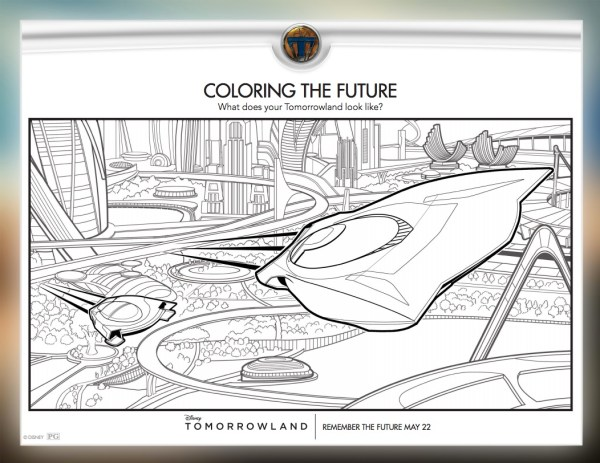 Tomorrowland coloring pages