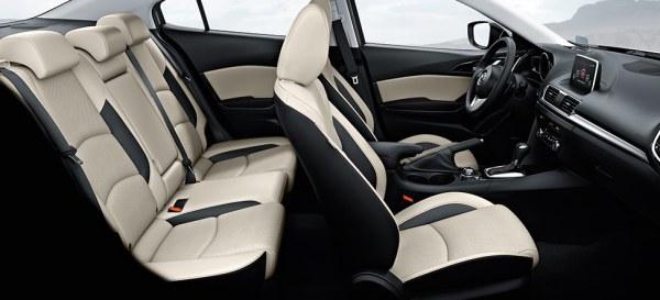 Mazda3 seats