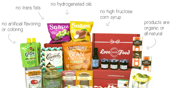 What's in a Love With Food box?