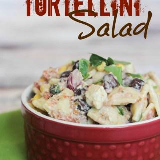 Mexican Tortellini Salad #PinterestRemakes