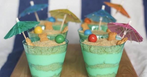 Dirt Cake Recipe Jello: Sand Pudding Cups