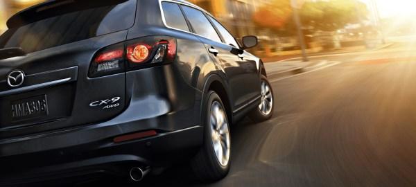2015 Mazda CX-9 suv back