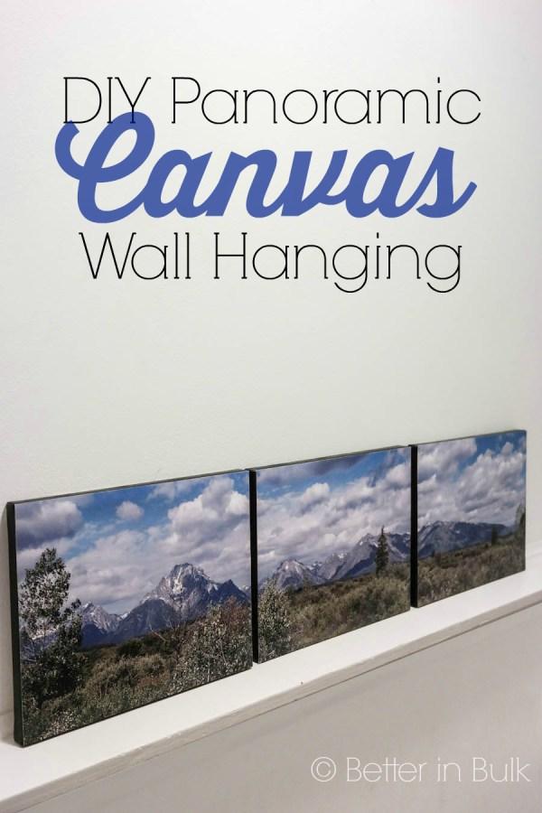 DIY Canvas wall hanging
