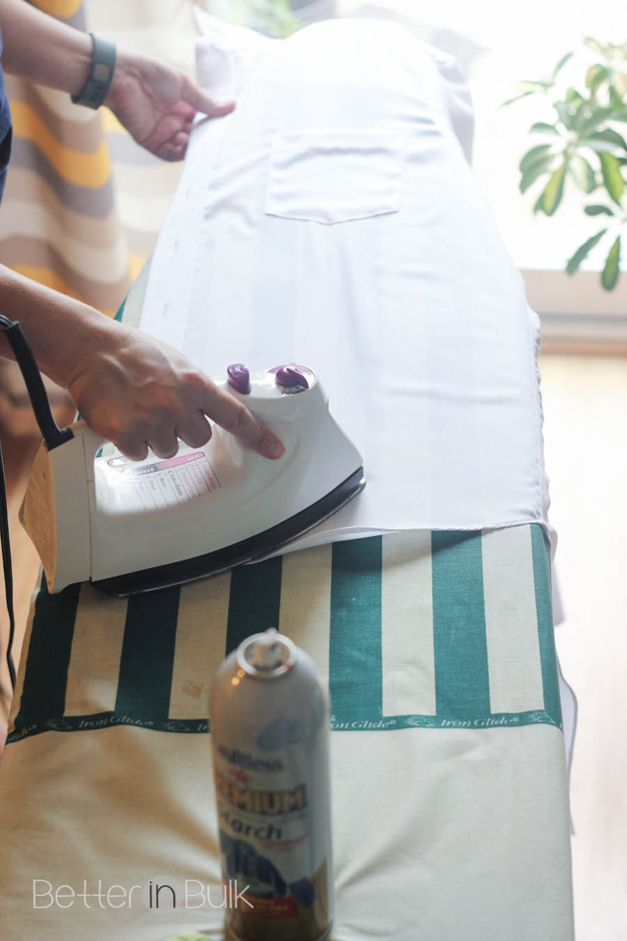 10 things you may not know about ironing with starch for Starch on dress shirts