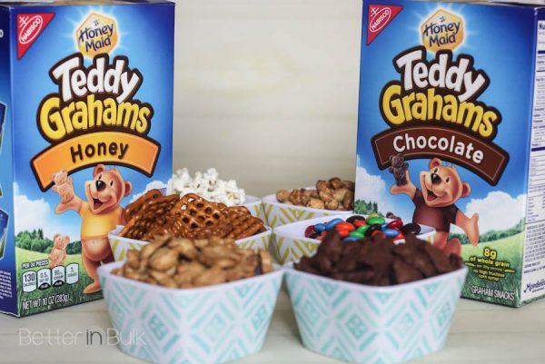 Honey Maid teddy graham snack mix
