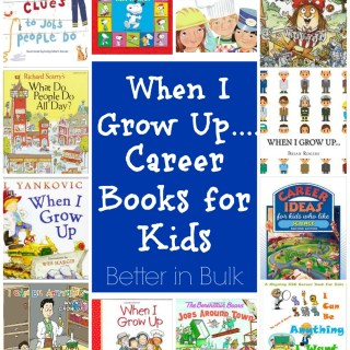 When I Grow Up…Labor Day Career Books for Kids #EntertainmentHOP