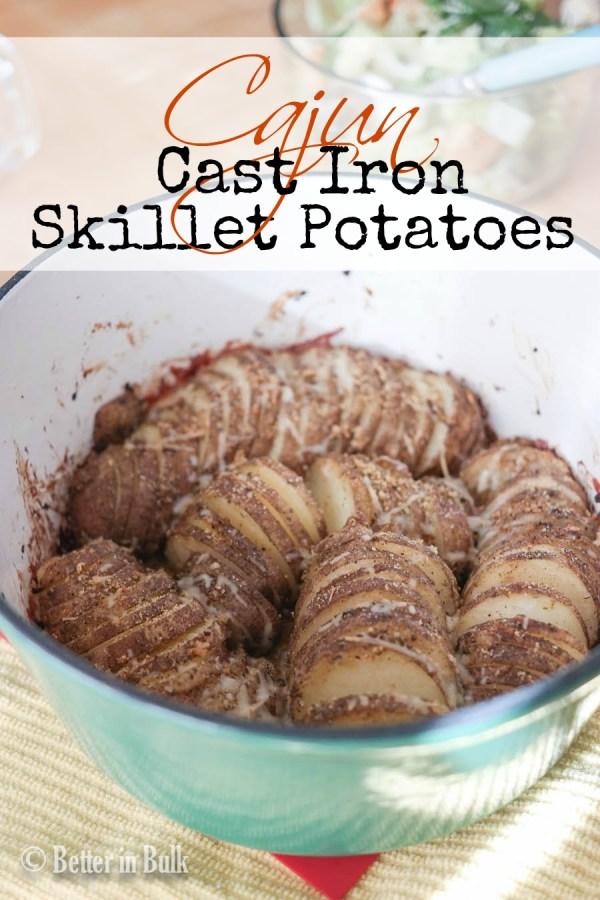 cajun cast iron skillet potatoes