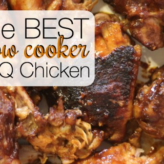 The BEST Slow Cooker BBQ Chicken