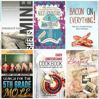 10 Free Kindle Books (9/26/15)