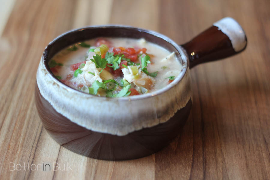 Brazilian chicken soup with rice by Food Fun Family