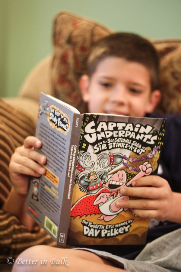 Captain Underpants new book and giveaway