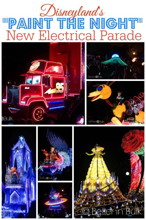 Disneyland's Paint the Night Parade